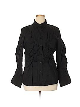 Ashley Stewart Long Sleeve Button-Down Shirt Size 16