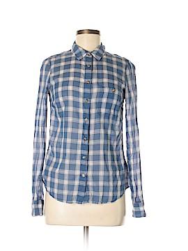 H&M L.O.G.G. Long Sleeve Button-Down Shirt Size 6
