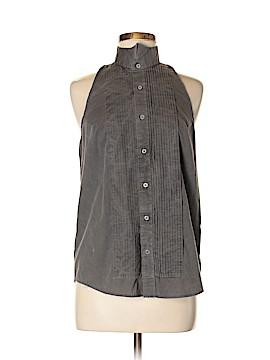 Urban Renewal Sleeveless Button-Down Shirt Size M