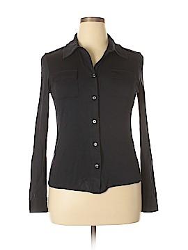Diane von Furstenberg Long Sleeve Button-Down Shirt Size 12