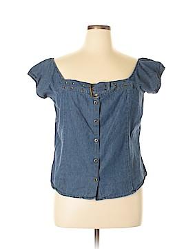 Jazzie Sleeveless Blouse Size 1X (Plus)