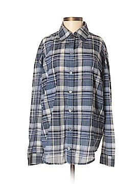 Patterson J. Kincaid Blue Label Long Sleeve Button-Down Shirt Size S