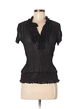 Sunny Leigh Short Sleeve Button-Down Shirt Size M