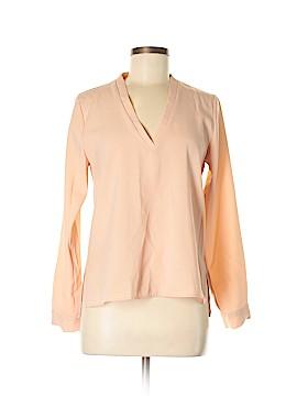 Zara Basic Long Sleeve Blouse Size M