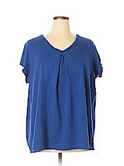 Ellos Women Short Sleeve T-Shirt Size 1X (Plus)