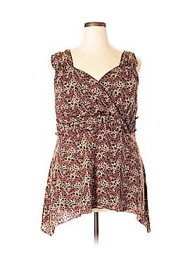 Venezia Sleeveless Blouse Size 18 - 20 Plus (Plus)