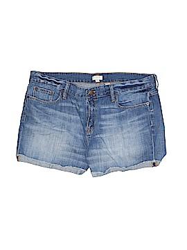 J. Crew Denim Shorts 33 Waist