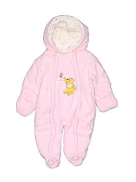 Disney Baby One Piece Snowsuit Size 0-3 mo