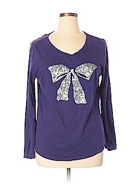 Ann Taylor LOFT Outlet Long Sleeve T-Shirt Size XL