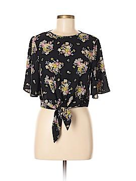 Miss Selfridge Short Sleeve Blouse Size 8