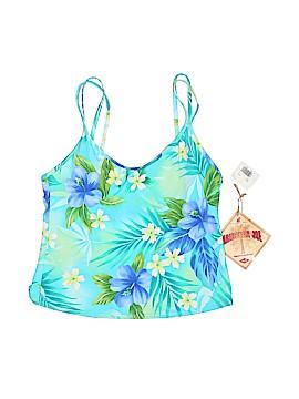 Caribbean Joe Swimsuit Top Size 14