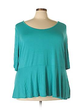 Jessica London 3/4 Sleeve Top Size 30 - 32 (Plus)