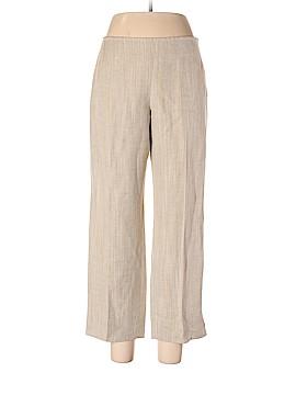 Lida Baday Linen Pants Size 12