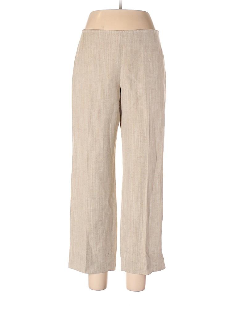 Lida Baday Women Linen Pants Size 12