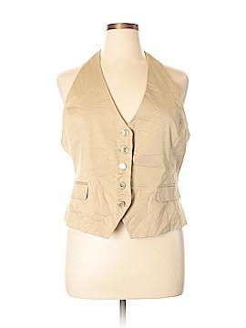 7th Avenue Design Studio New York & Company Tuxedo Vest Size 16
