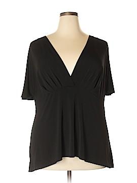 Briggs New York Short Sleeve Top Size 3X (Plus)