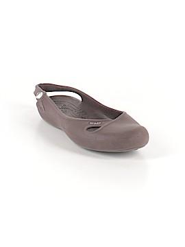 Crocs Flats Size 10