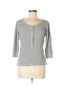 DKNY 3/4 Sleeve Henley Size M