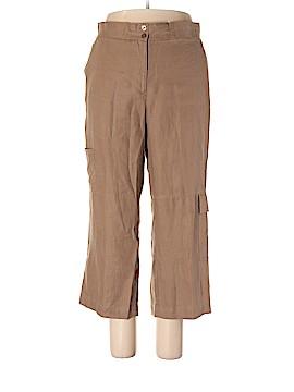 Orvis Linen Pants Size 18 (Plus)
