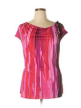 Dana Davis Short Sleeve Top Size 2X (Plus)