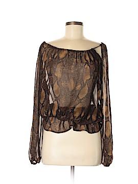 Adrienne Vittadini Long Sleeve Blouse Size 6