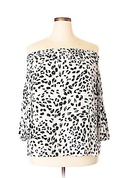 Vince Camuto 3/4 Sleeve Blouse Size 1X (Plus)
