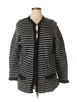 Sarah Spencer Wool Cardigan Size 3X (Plus)