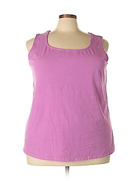 Jessica London Sleeveless T-Shirt Size 30 - 32 (Plus)