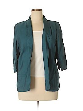 LC Lauren Conrad Silk Blazer Size 14