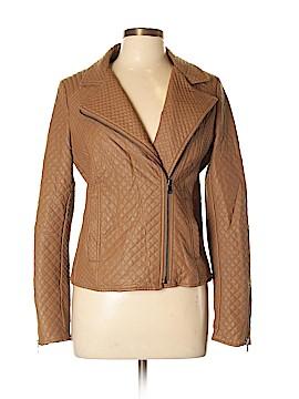 Esley Faux Leather Jacket Size L