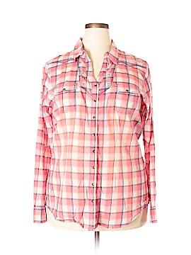 Rock 47 Long Sleeve Button-Down Shirt Size XXL