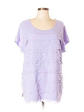 Isaac Mizrahi Short Sleeve Top Size XL