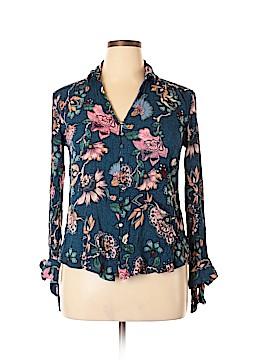 Vintage America Blues Long Sleeve Button-Down Shirt Size L