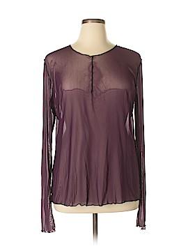 Cynthia Ashby Long Sleeve Blouse Size XL