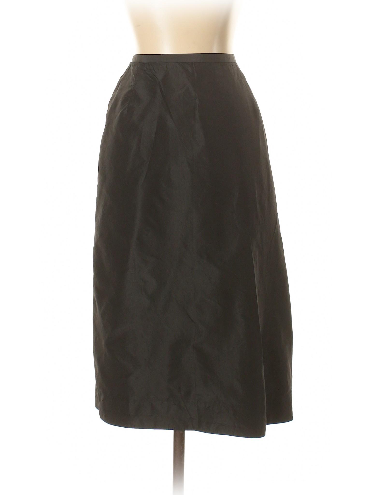 Leisure Silk Skirt winter Republic Banana SqHSA