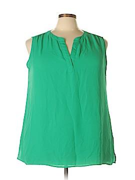 Chaus Sleeveless Blouse Size 3X (Plus)