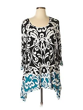 Grace 3/4 Sleeve Top Size 1X (Plus)