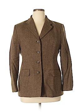 Lands' End Wool Blazer Size 14
