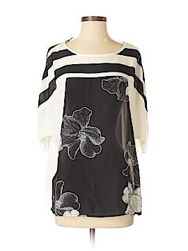 Valerie Stevens Short Sleeve Blouse Size S