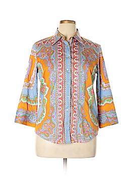 Robert Graham Long Sleeve Button-Down Shirt Size XL
