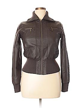 Delia's Faux Leather Jacket Size L