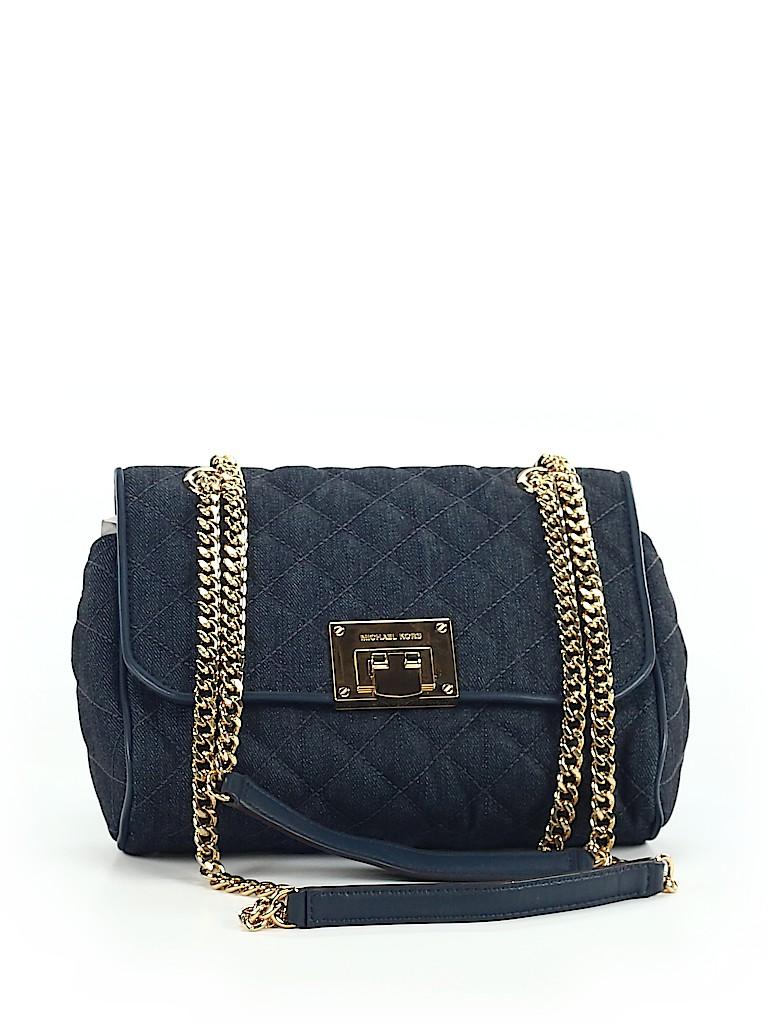 506ea190473f MICHAEL Michael Kors Solid Navy Blue Crossbody Bag One Size - 70 ...