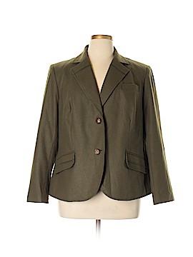 Harve Benard by Benard Holtzman Wool Blazer Size 16W