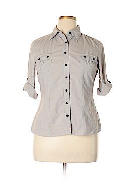 Apt. 9 3/4 Sleeve Blouse Size L