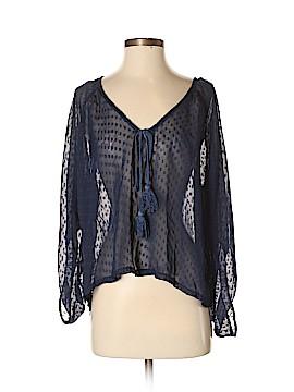 Bar III 3/4 Sleeve Blouse Size S