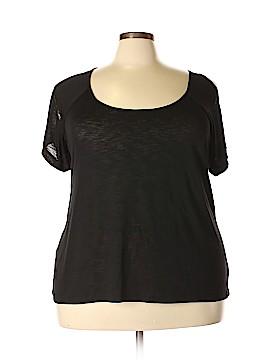 Twist Tees Short Sleeve Top Size 3X (Plus)