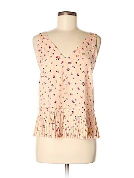 Rebecca Taylor Sleeveless Silk Top Size 8