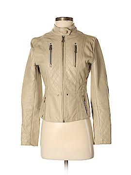 C'est Toi Faux Leather Jacket Size S