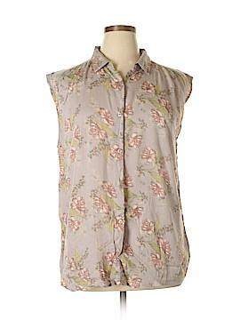Susina Short Sleeve Blouse Size XL
