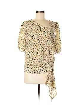 Leifsdottir 3/4 Sleeve Silk Top Size 6